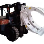 Forklift Attachments 360 Rotation Single Arm Paper Roll Clamps
