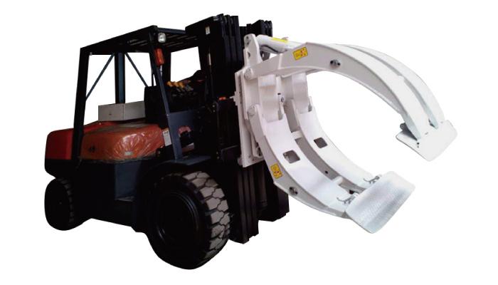 Gabelstapler-Zubehör 360 Rotation Einarmige Papierrollenklammern
