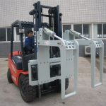 Hydraulic Forklift Attachments Log Holder