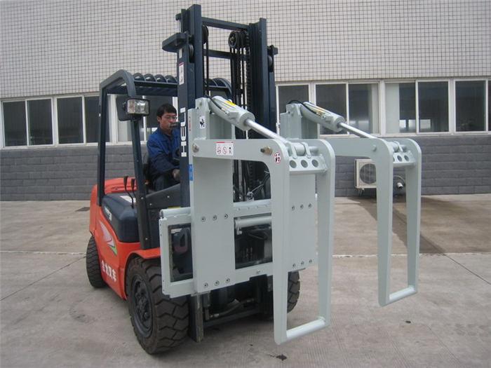 Hydraulic Forklift Attachments Log Holder