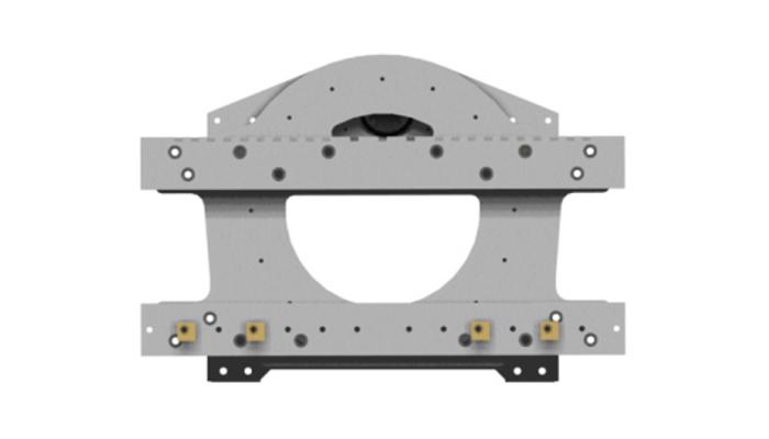 360度液压叉车旋转器(叉车附件)