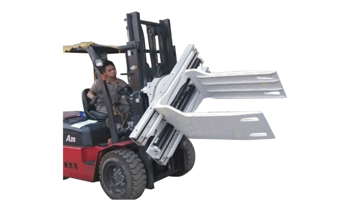 Class 3 Forklift Attachments Cotton Bale Clamp With 575-2150 mm
