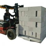 Hydraulic Forklift Concrete Bricks /Block Lifting Clamp