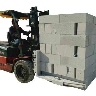 Hydraulic Forklift Concrete Bricks Block Lifting Clamp