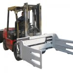 Fork Truck Rotating Bale Clamps With Forklift