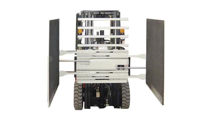 지게차 부착물 카톤 클램프 클래스 3 및 1220 * 1420 mm 암 크기