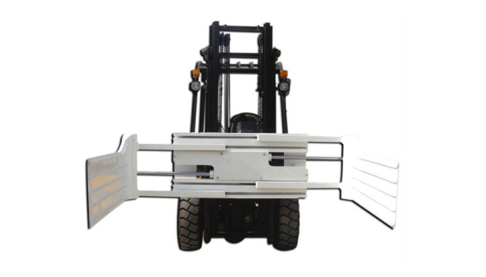 Efficient Hydraulic Revolving Bale Clamp for Forklift Truck