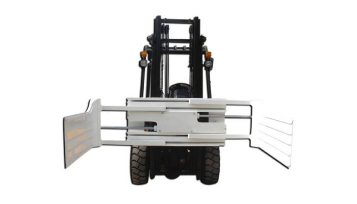 フォークリフト用の効率的な油圧回転ベールクランプ