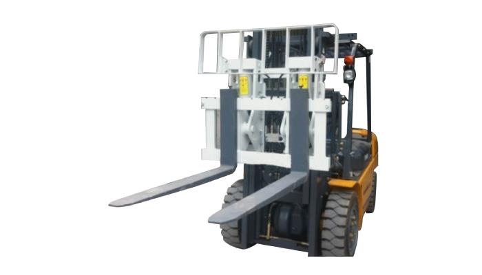 유압식 부속 장치 Hinged Fork Forklift