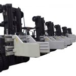 2.7 Tons Forklift Bale Clamp Attachments