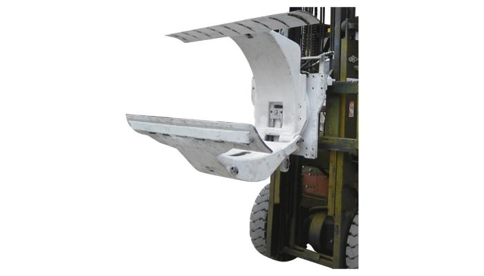 Kağıt Rulo Kelepçeleri Eklenti ile 3 Ton Dizel Forklift