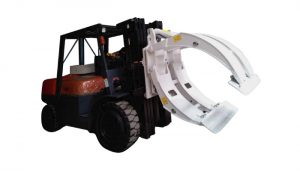 Class 2 Forklift Attachment Rotating Paper Roll Clamp
