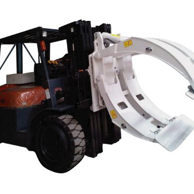 Kelas 2 Forklift Attachment Rotating Paper Roll Clamp