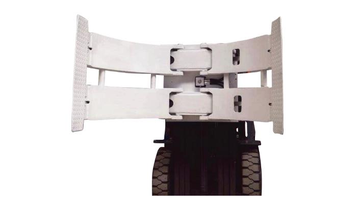 マテリアルハンドリング装置2ton TBシリーズロールパレットトラックマニュアルパレットスタッカペーパーロールクランプフォルダ