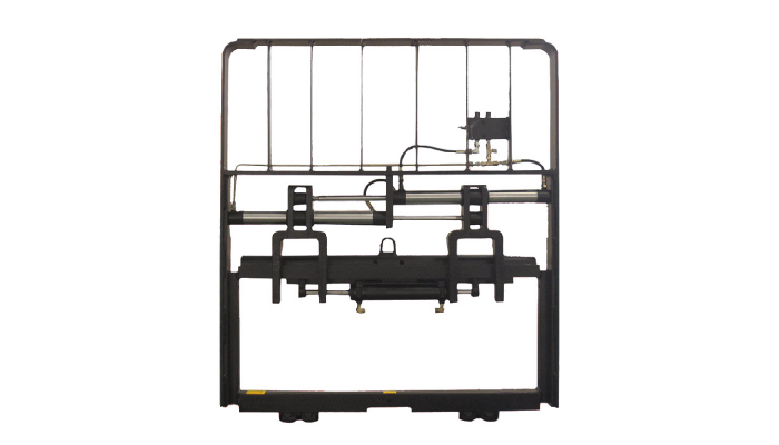 Heavy Duty Hydraulic Metal Fork Positioner For Diesel Forklift