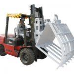 Forklift Chemical Fiber Waste Paper Hinged Broke Handler