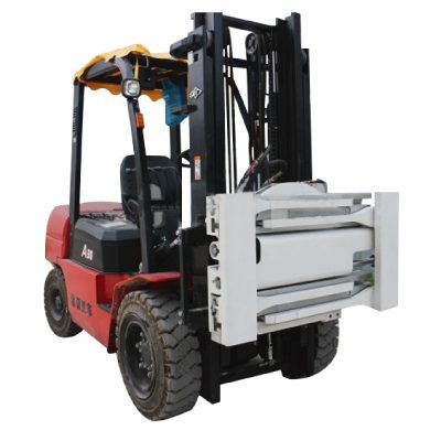 Sideshifting no-arm Clamps for Forklift