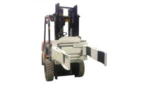 Efficiently Hydraulic Forklift Attachment Rotating Fork Clamp (2 Pairs Fork)