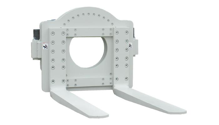 forklift rotator clamp