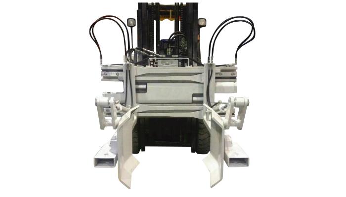 Attachment Forklift Drum Grabber