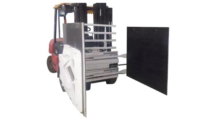 Kartongklemme for gaffeltruck, gaffeltruck feste Kartongklemme, kartonghåndterer.