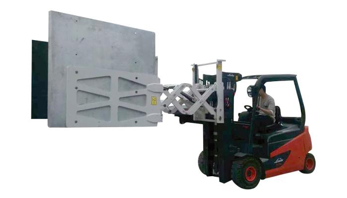 Forklift elektronik perkakas rumah kertas kadbod pengapit