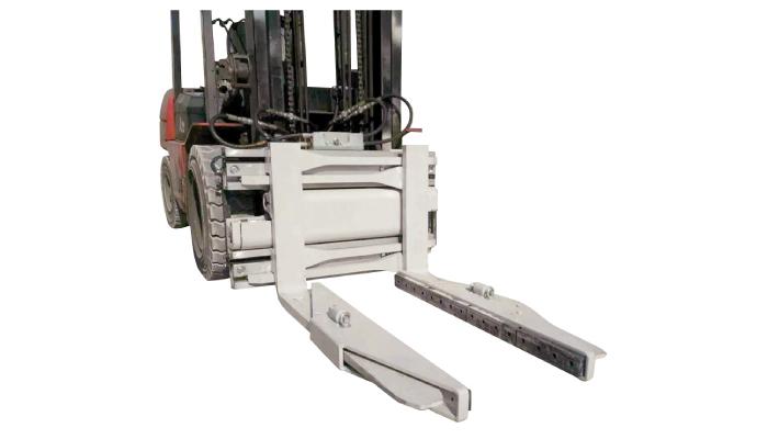 Gabelstapler-Anbaugerät Hydraulische Blockklemme