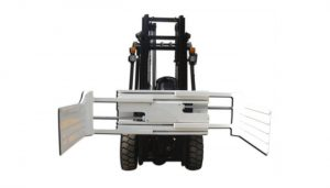 Big opening range lift truck attachment bale clamp equipment with forklift