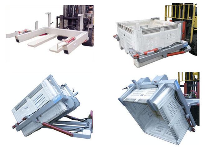 Type NWB-T Wheelie Bin Tipper for Forklift