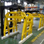 High Quality Forklift Concrete Bell Type Block Clamps Dijual