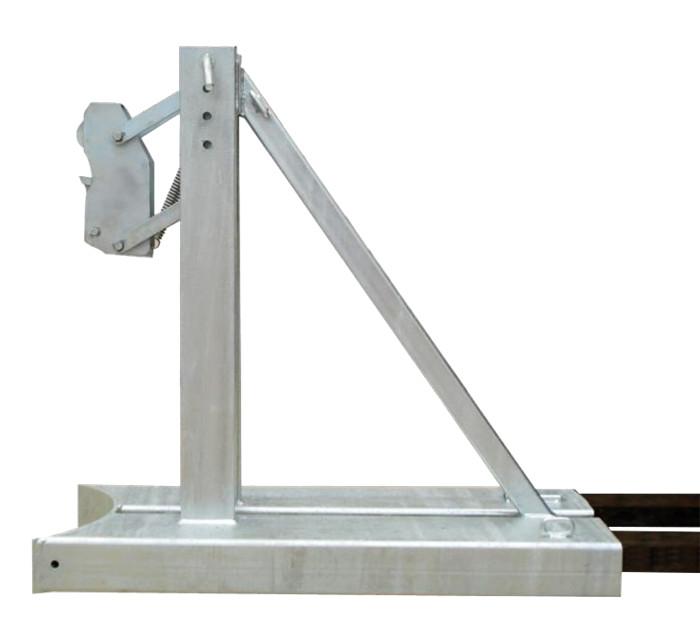Elevador de tambor de empilhadeira DH1 para fixação de empilhadeira