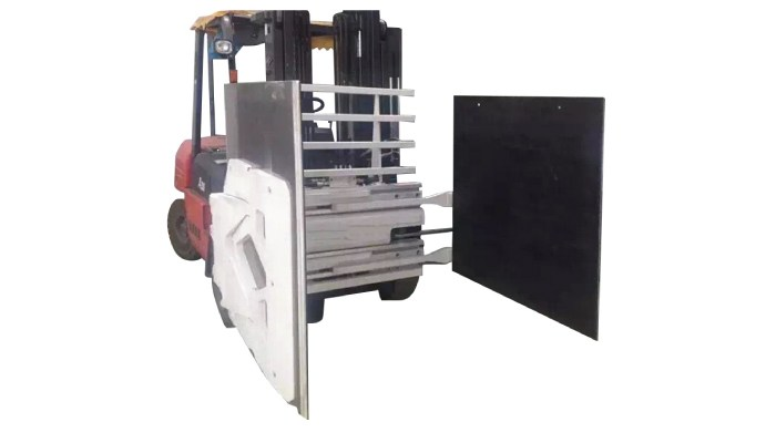 Forklift Attachment Carton Clamps