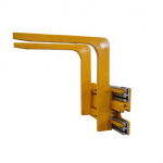 Forklift attachments hydraulic big bag lifter