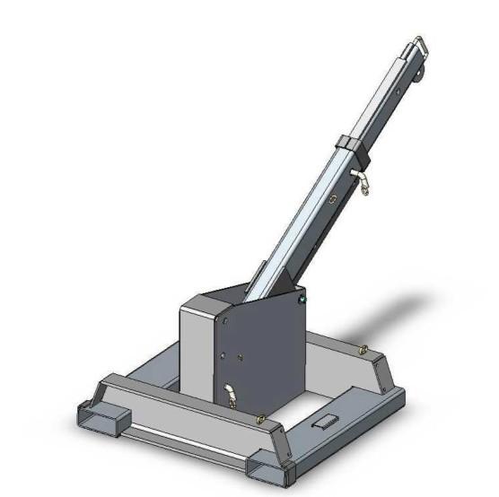 مكينال ثابتة مرفق المرفاع رافعة شوكية رافعة الجيب