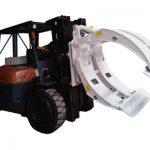 Braçadeira do rolo do papel da empilhadeira do equipamento de manipulação de materiais