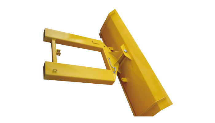 SPE-13.5 forklift snow plow removal