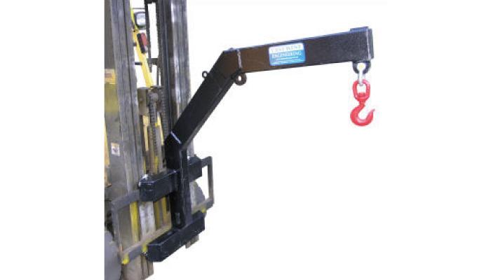 Tip pritrditev vilice za težke vozičke tipa CMJ-2