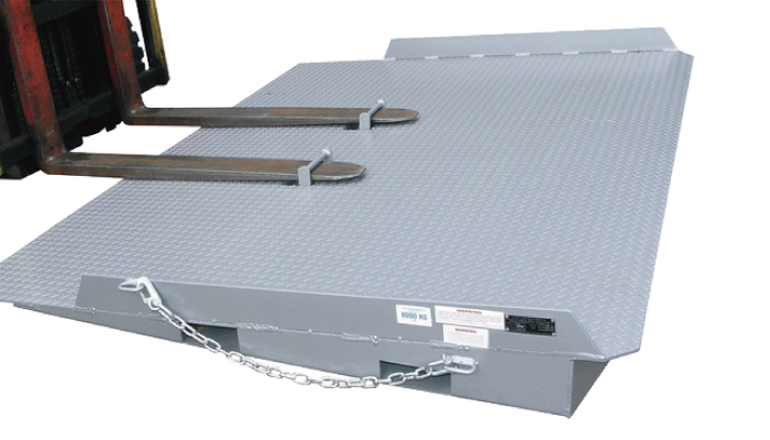 Type CRL8 access load shipping container ramp