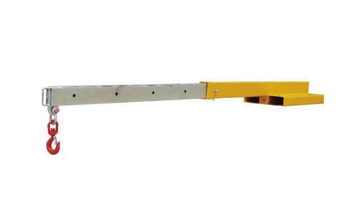 Taipkan FJL2.5 booms lampiran forklift jib