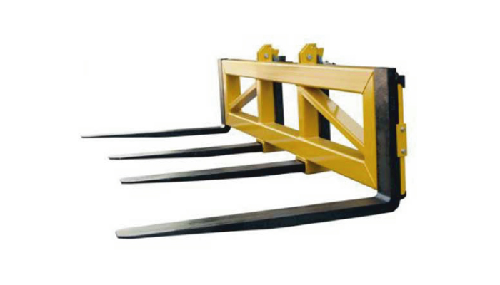 Type FSNP2-3000 fork bar spreader forklift attachment for sale