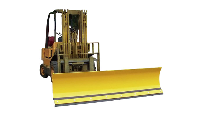 Type SSP-1830 heavy duty mounted forklift truck snow plough attachment