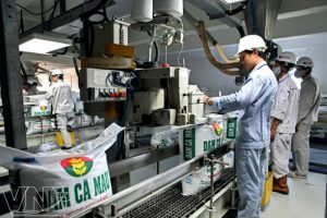 Indústria de fertilizantes