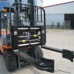 Hydraulic Forklift Attachments Synchronous Clamping Forks