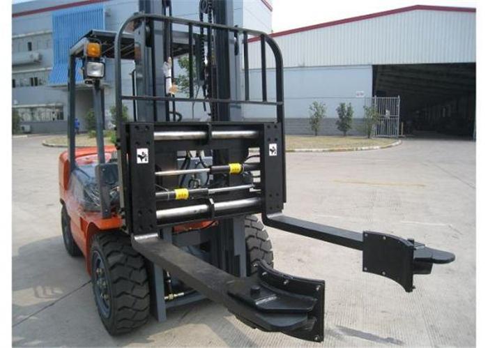 Hidraulik Forklift Attachments Clamping Penjepit Forks untuk Bahan Bangunan