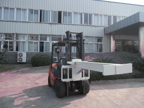 Manipulador de vidro hidráulico de empilhadeira