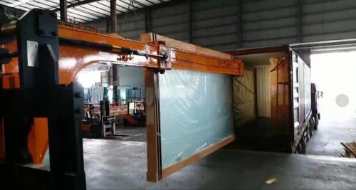 Manipulador de vidro hidráulico