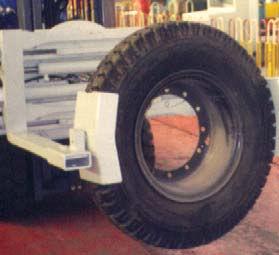 Slip ON Fork Tyre Clamp